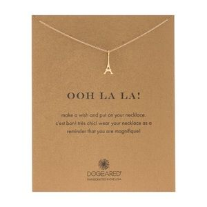 "Dogeared Gold ""Ooh La La!"" Necklace"
